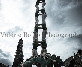 Castellers de Sant Cugat, 8 stories tower, tour de huit stages